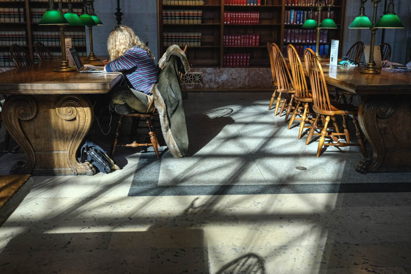 The Light...The Wood...The Marble. Do you remember the card catalogues?