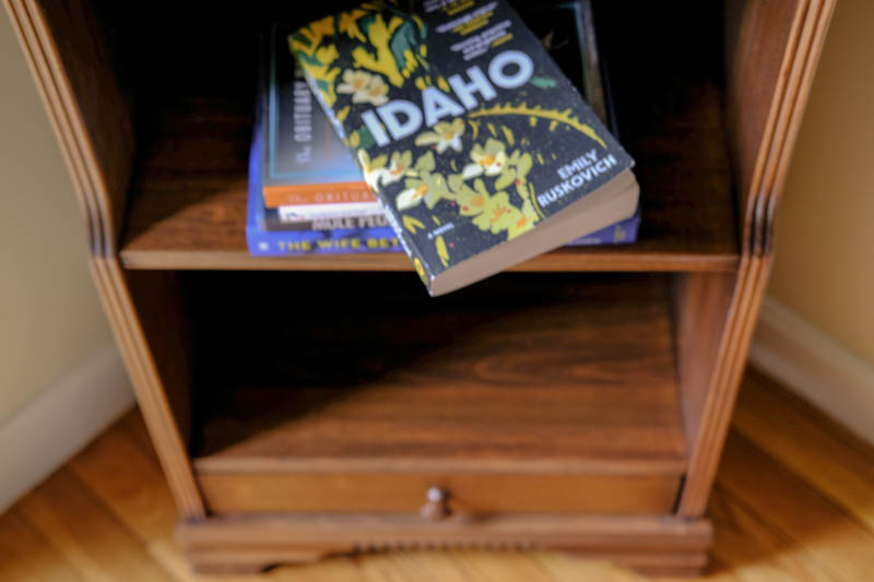 I actually got this book in my book page from Random House. A new writer that I had not heard of before. It was a wonderful story about love and forgiveness, the violence of memory and the equal violence of losing it. The landscape was sweeping. A meditation on the power and limits of the individual imagination. I would read her again.  4 Stars