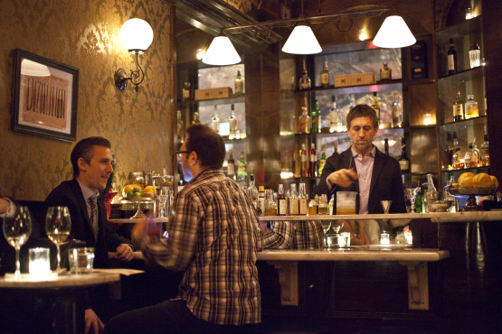 Manhattan Cricket Club - NYC Bar Design Speakeasy