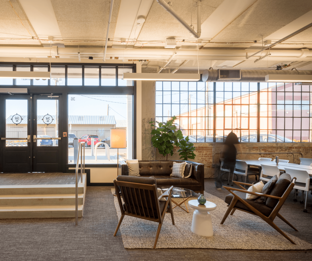 Best Modern Design Coworking Space 36 Degrees North Tulsa