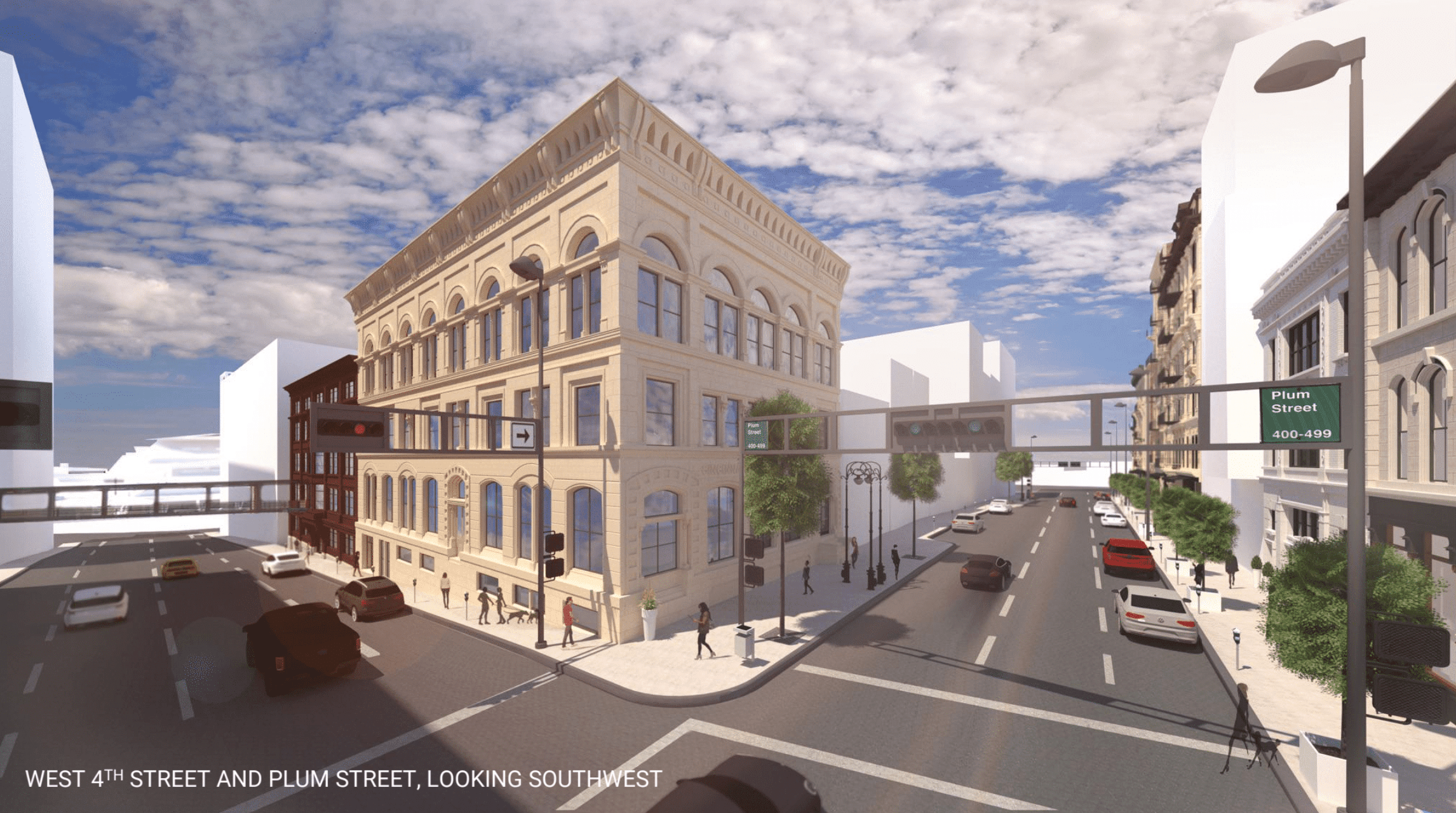 Best Urban Design Development Master Planning Cincinnati Ohio West 4th St