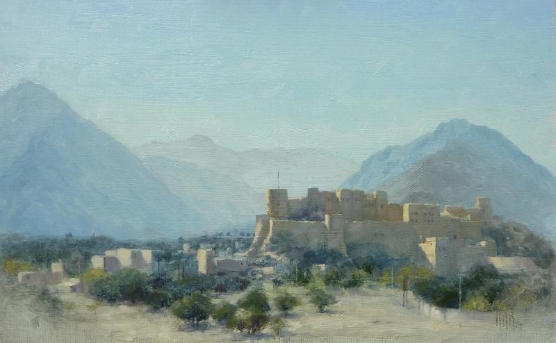 Nakhl, Oman (morning)