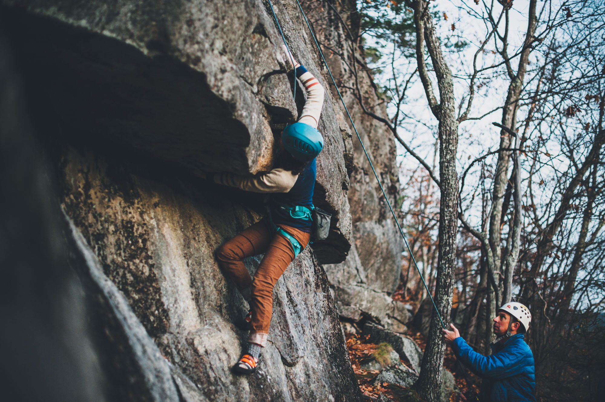 Photo: Alexandra Roberts, Attempt 24 on Incisor Crack