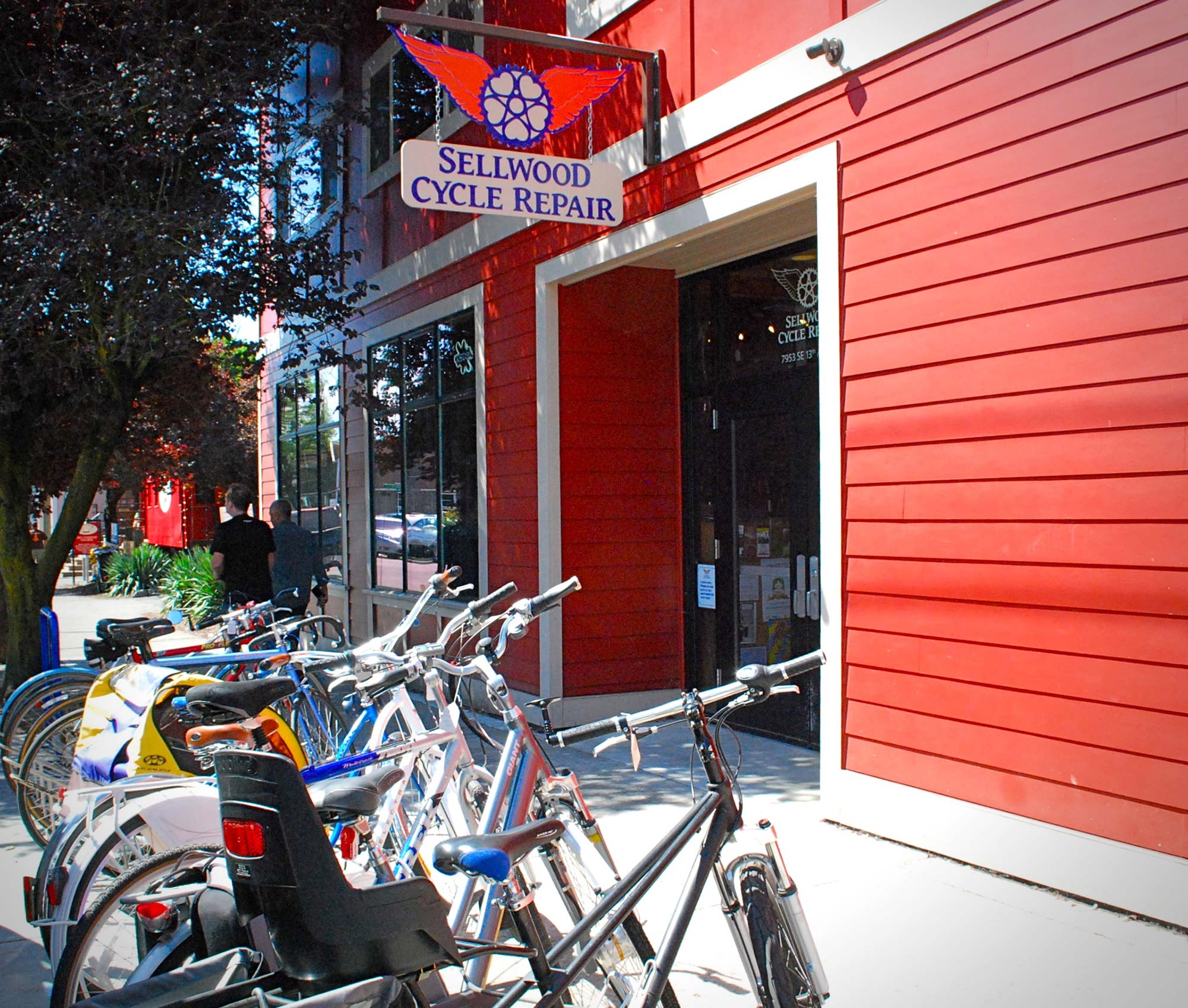 Portland is Biketown USA.