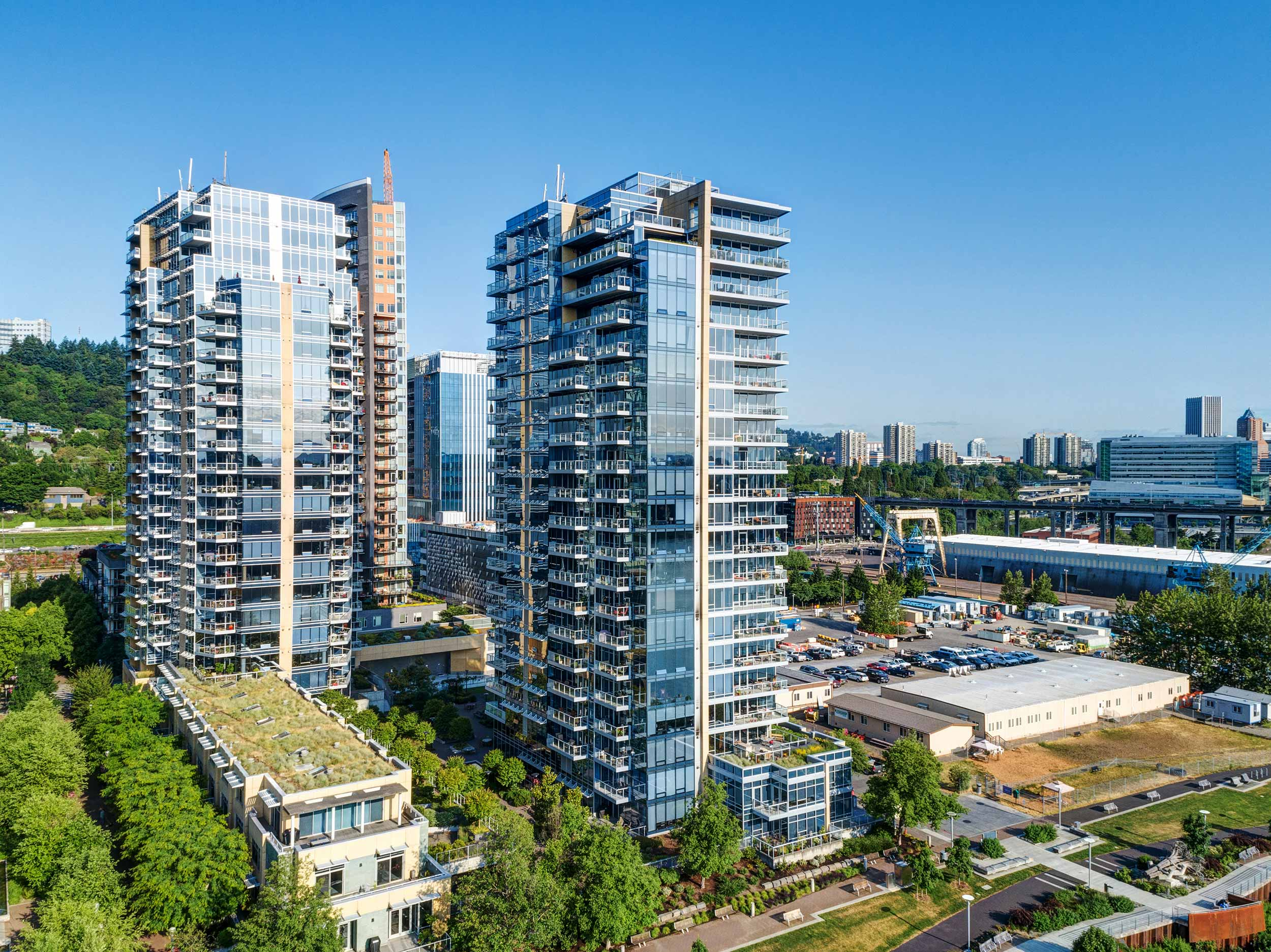 Meriwether Towers in the South Waterfront