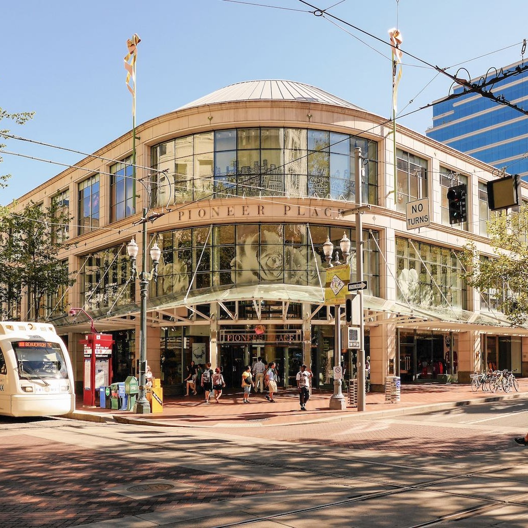 PIONEER PLACE SHOPPING -