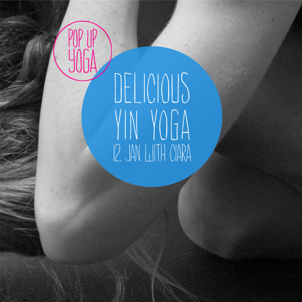 Unwind, calm down and relax in this delicious Yin Yoga class with  Ciara Collins-Atkins  . Hold asanas for long durations to work deep into the fascia and release old patterns and soothe your nervouse system. Enjoy this 90min delicious Yin Yoga class in the beautiful and slightly heated room at  LADY'S FIRST design hotel *  Date & Time: Today - Thursday 12. January, 19.30 - 21.00  NEXT YIN YOGA CLASS: Thursday 23. February, 19.30 - 21.00 Location: Lady's First Design Hotel*, Mainaustrasse 24, 8008 Zürich *only for women* Price: 25 chf or with POP UP YOGA Abo  Please register here and bring your own mat (space is limited):  http://www.popupyoga.ch/#book-your-class   *THIS CLASS IS ONLY FOR WOMEN, DUE TO THE POLICIES OF THE LOCATION.*