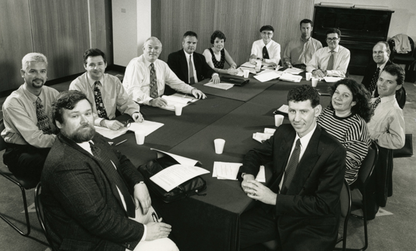 Board of Directors & Senior Staff Meeting, 1996