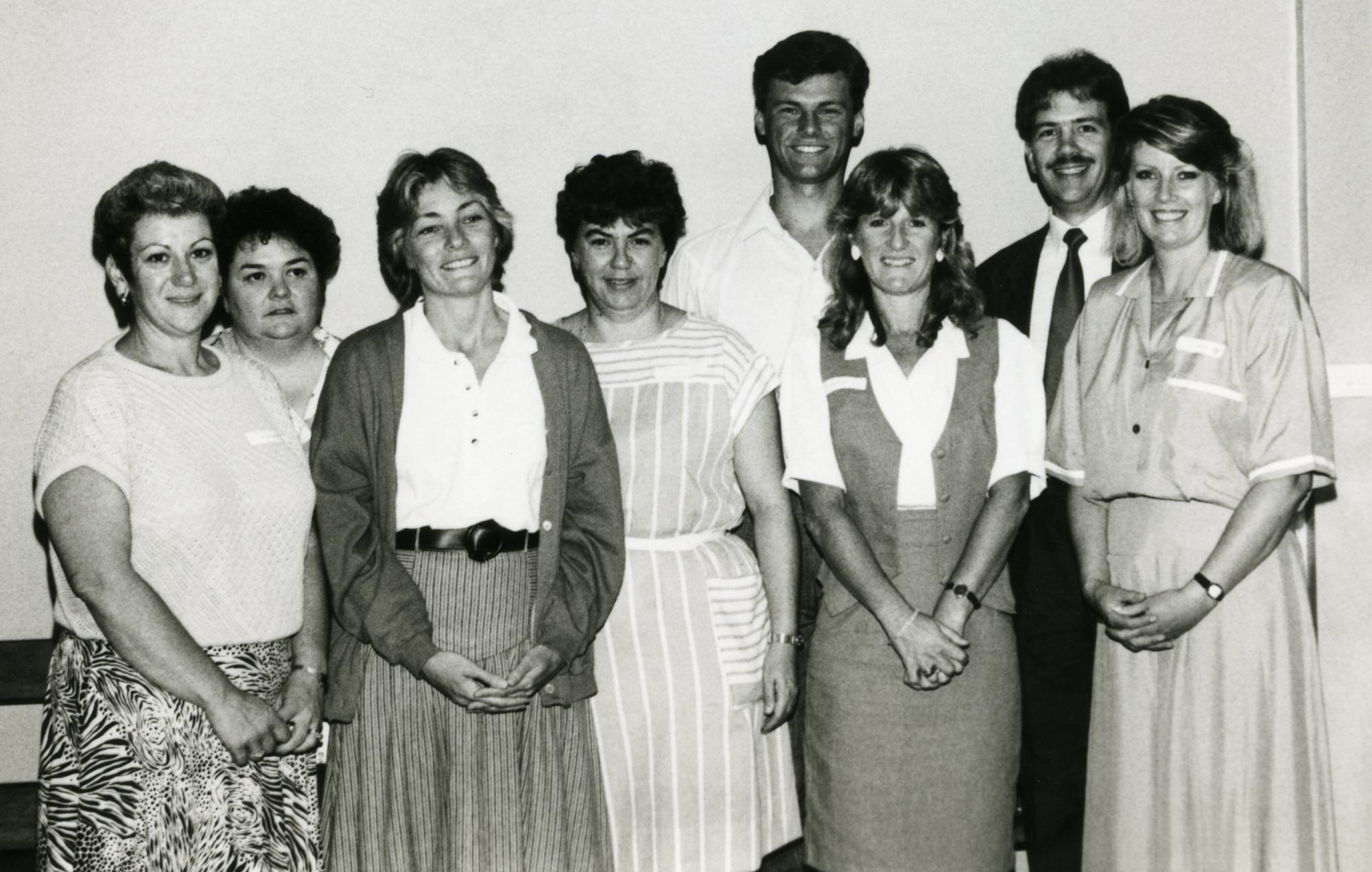 Auslan interpreters, 1980s