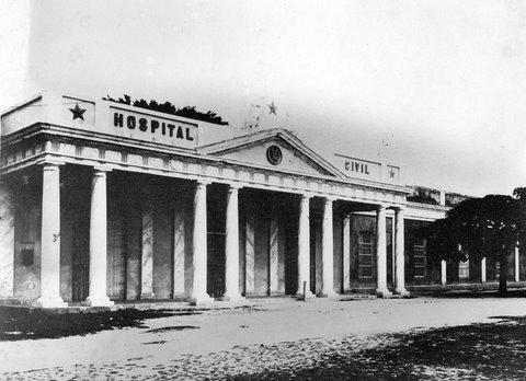 """""""Hospital Civil en los principios del siglo XX""""."""