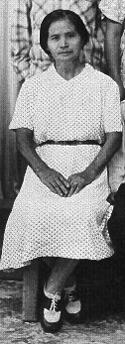Kame Sashida, 1953.