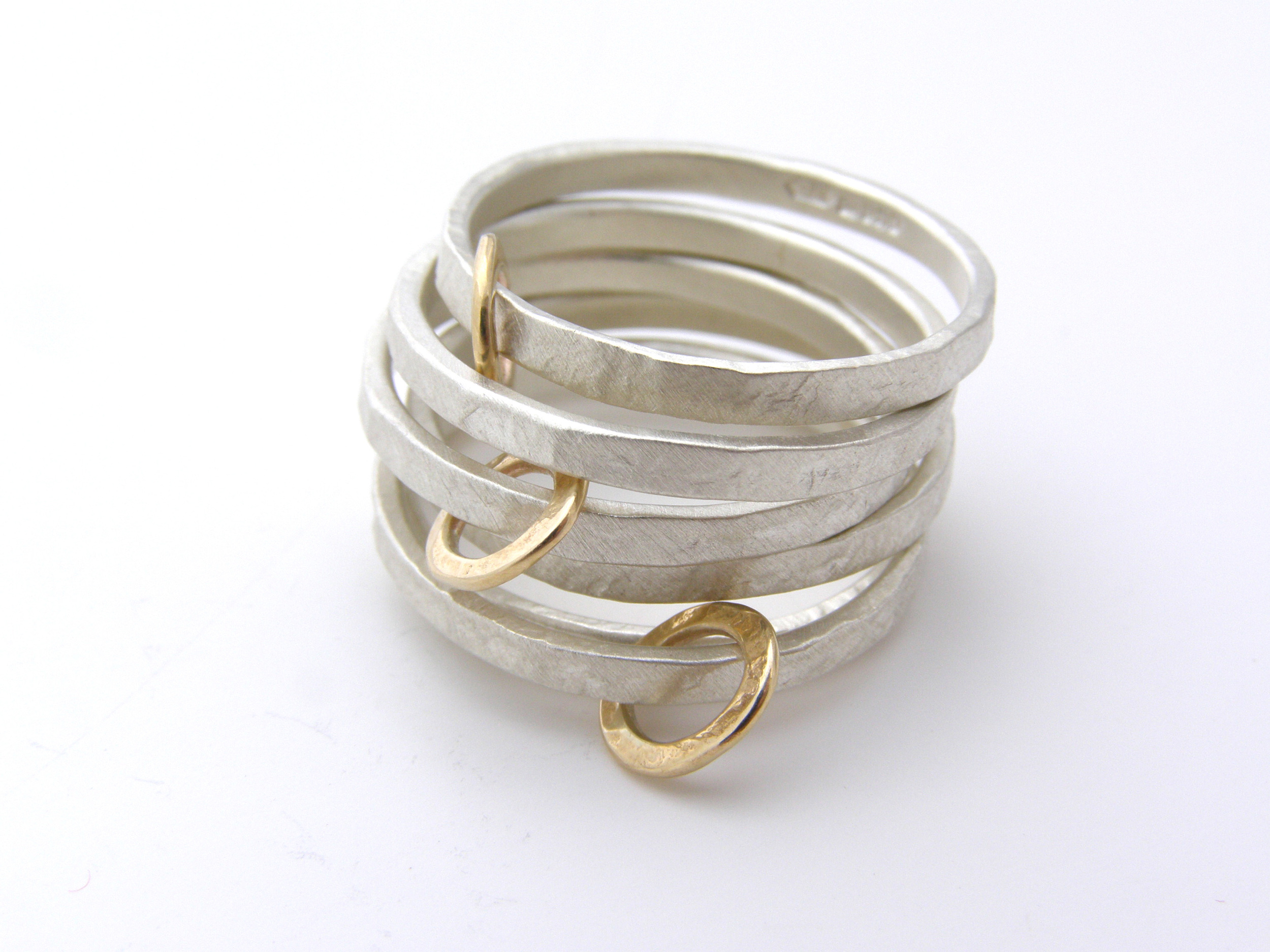 'Gold Hoop' Ring stack.JPG