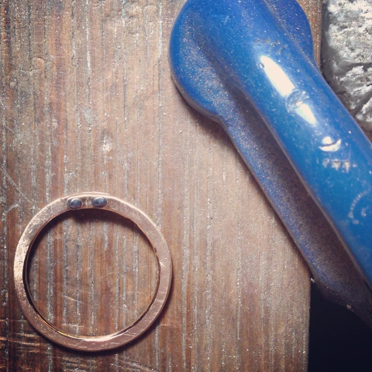 Gold and oxi rivet ring.JPG