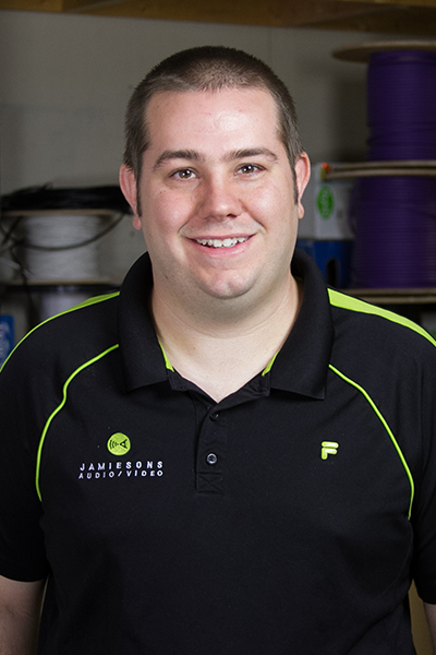 Joe Diegel, Installation/Programming Specialist   Jamiesons' team member 15years