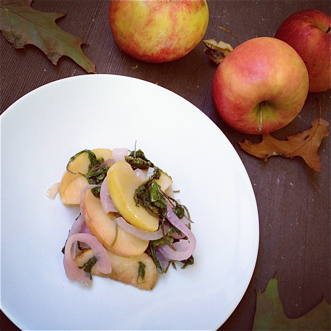 Sauteed Kale and Apples.JPG