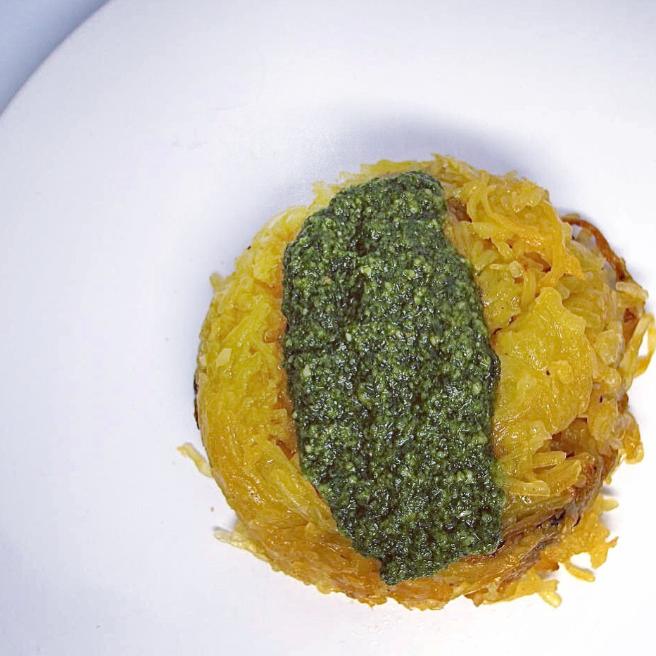 Spaghetti Squash with Basil Pesto.JPG