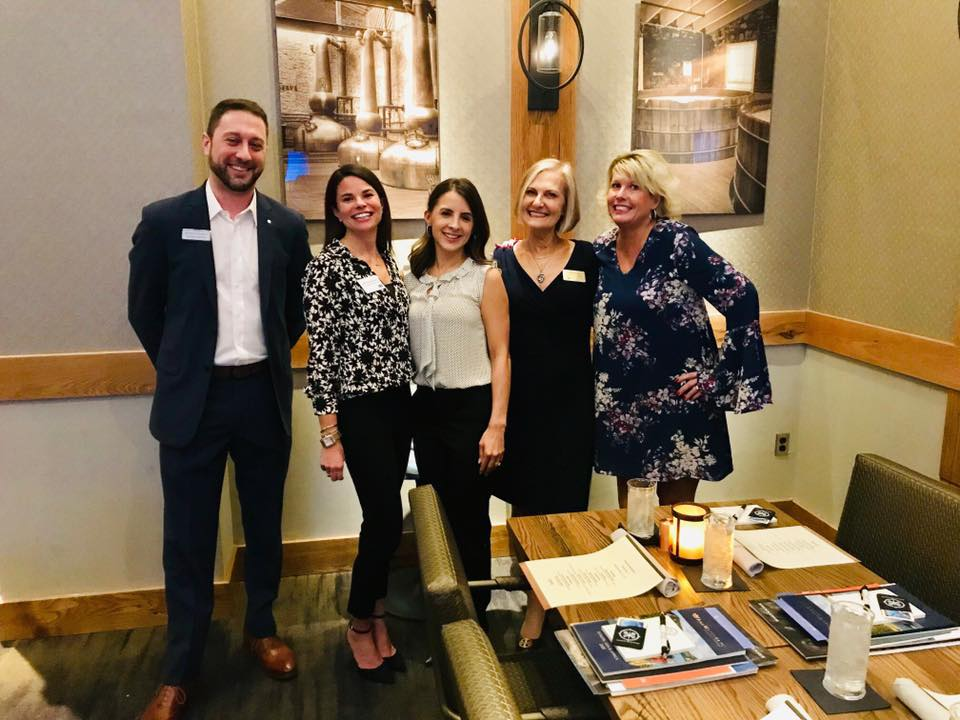 Andrea and Heather with travel partners Silversea Cruises, AIC Hotel Group & Classic Vacations at our Luxury Travel Evening. Clients had a chance to meet our team and learn more about amazing destinations.