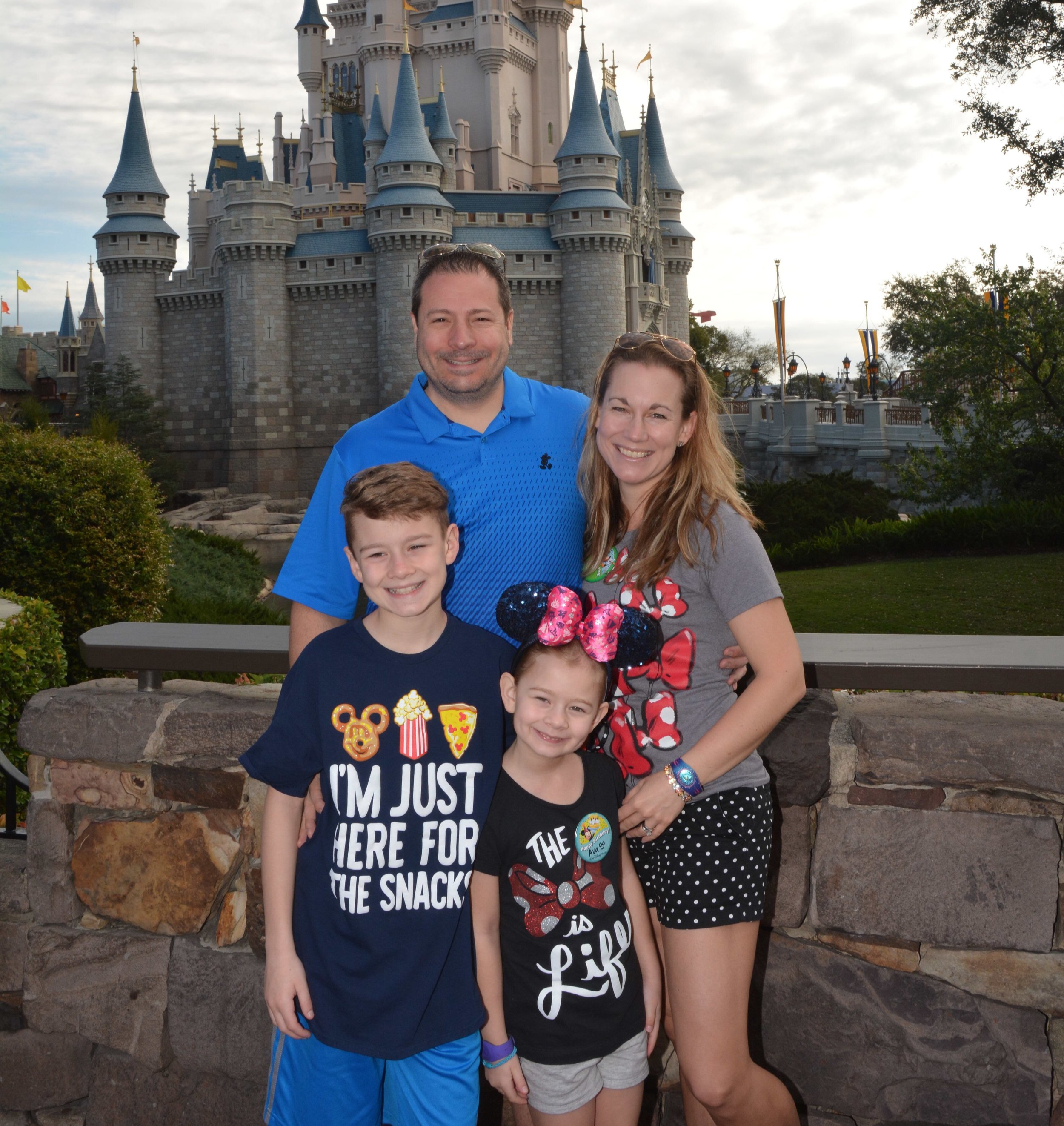 Jo and her family having another great trip to Disney World.