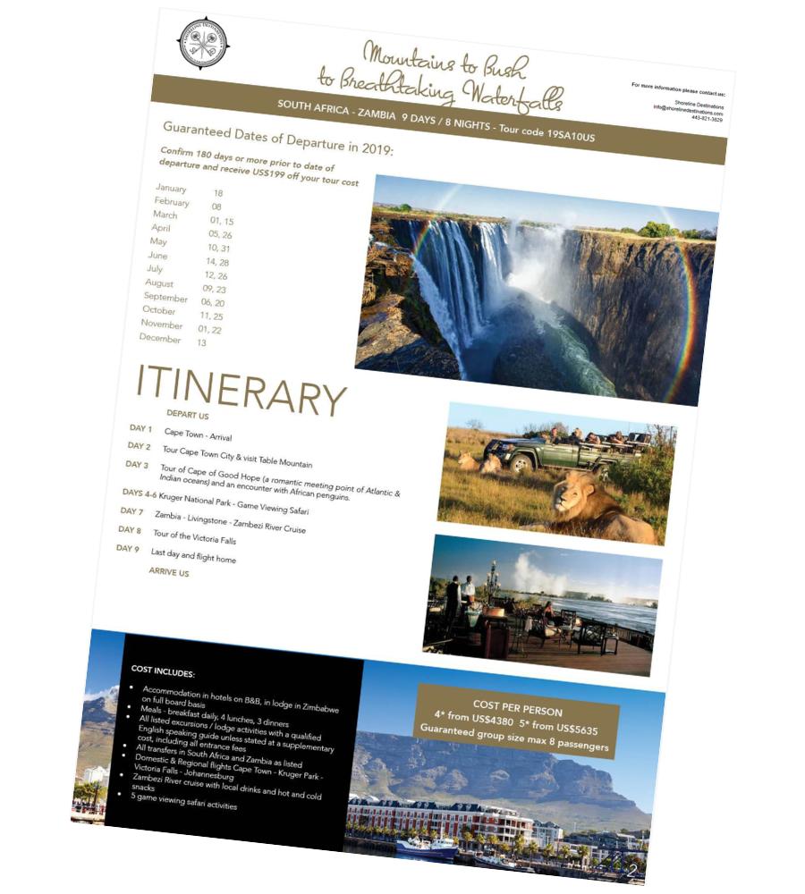 Mountains to Bush to Breathtaking Waterfalls Tour