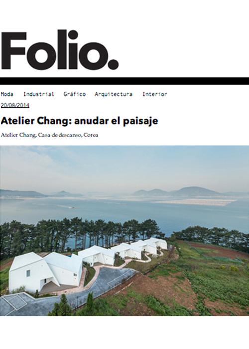 Folio  08.2014   Knot House, Korea