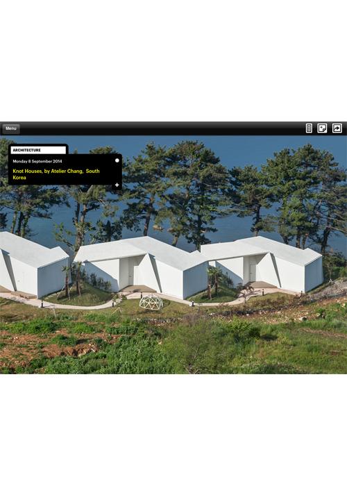 Wallpaper App  08.2014  Knot House, Korea