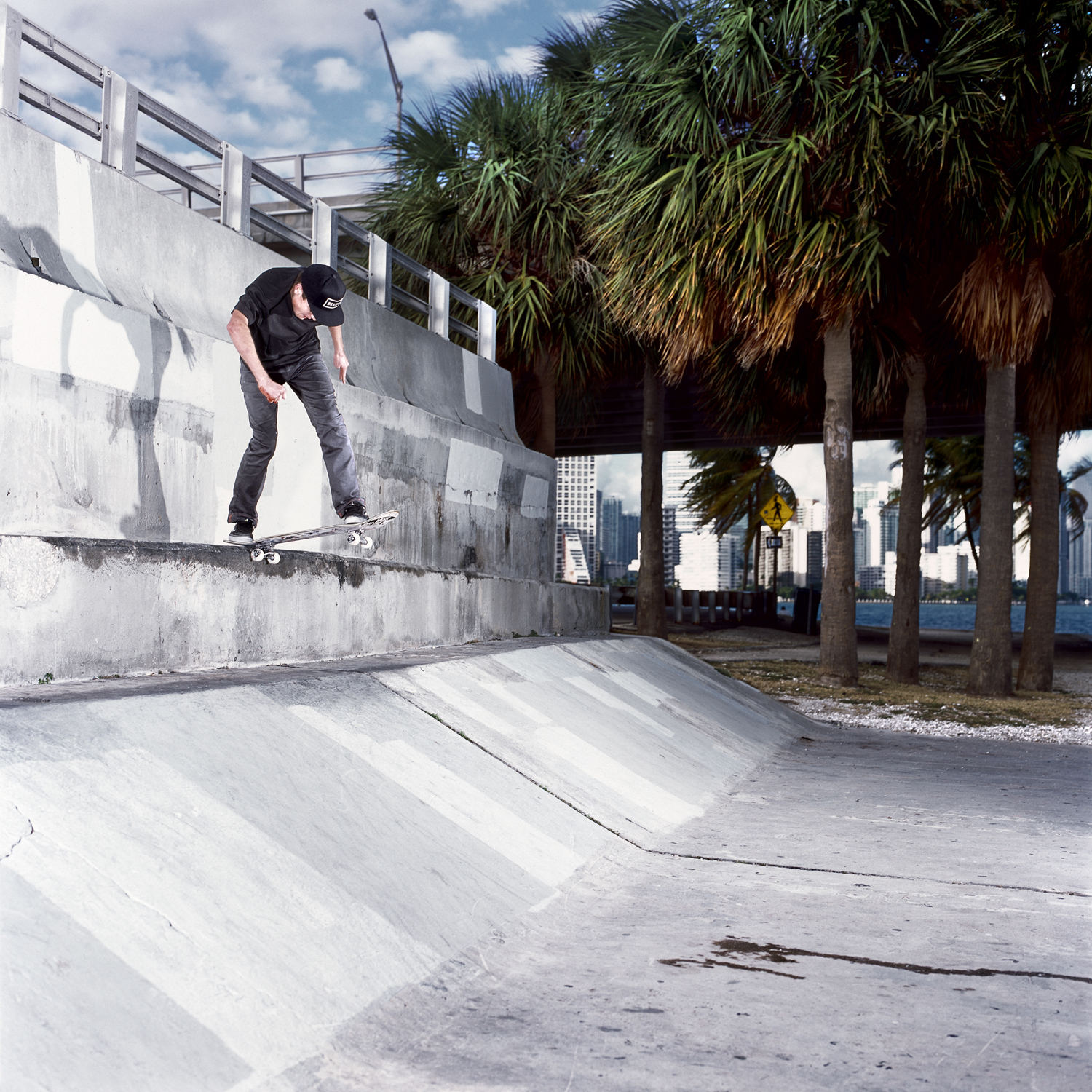 Sam Lind, Backside Tailslide, Miami, FL 2012