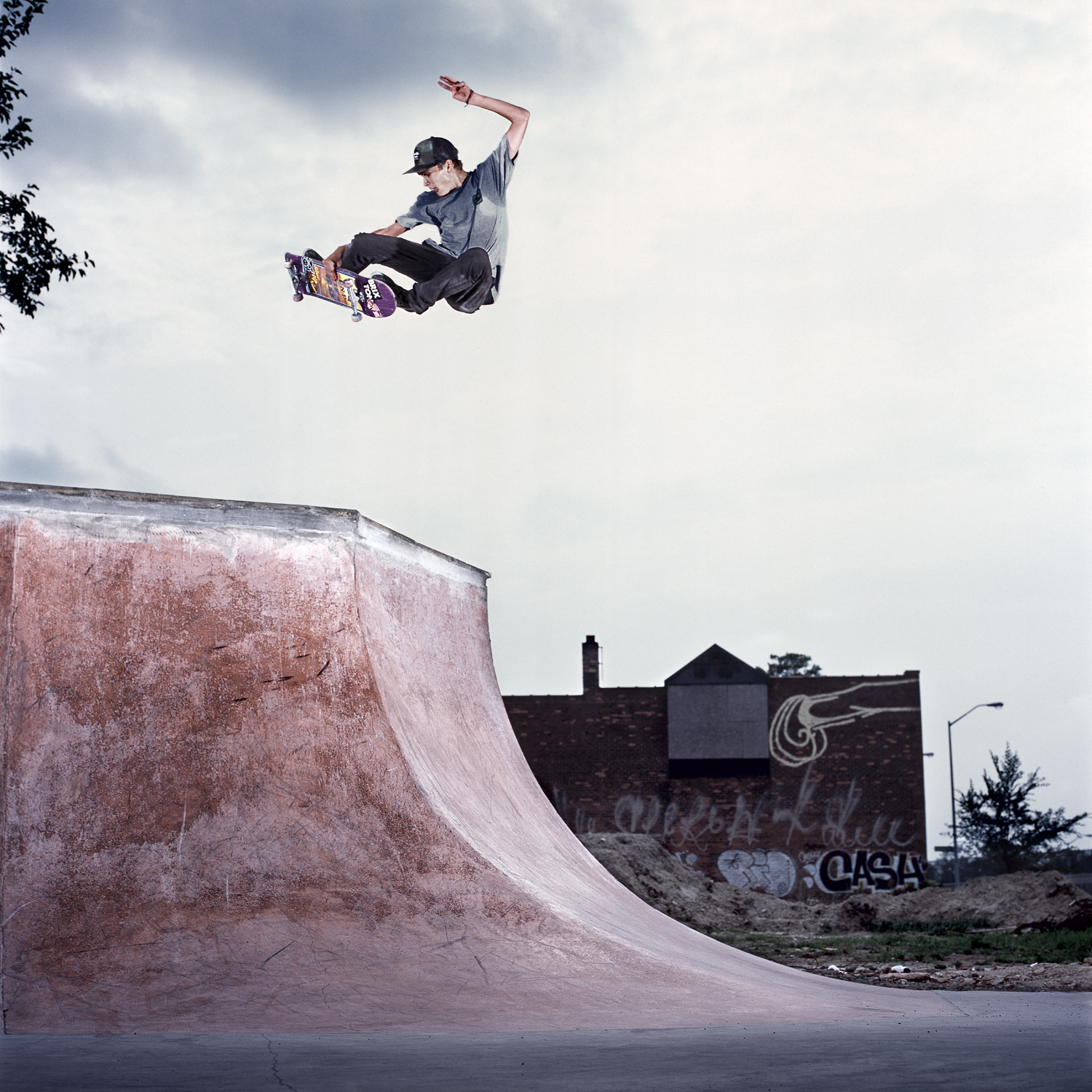 Sam Lind, Frontside Transfer, Detroit, MI 2012