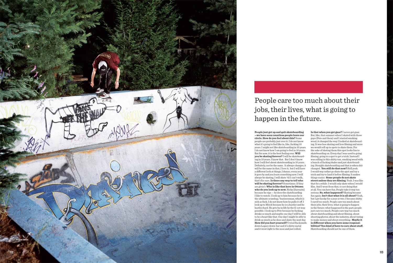 SBC Skateboard Canada Issue 14.4