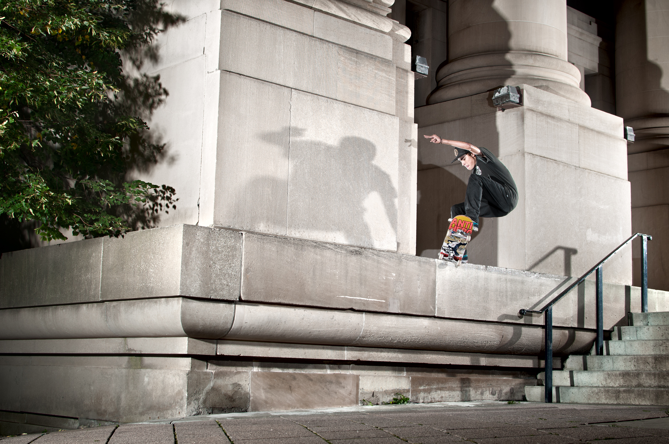 Sam Lind, Gap Out Frontside 5-0. Ottawa, ON 2012