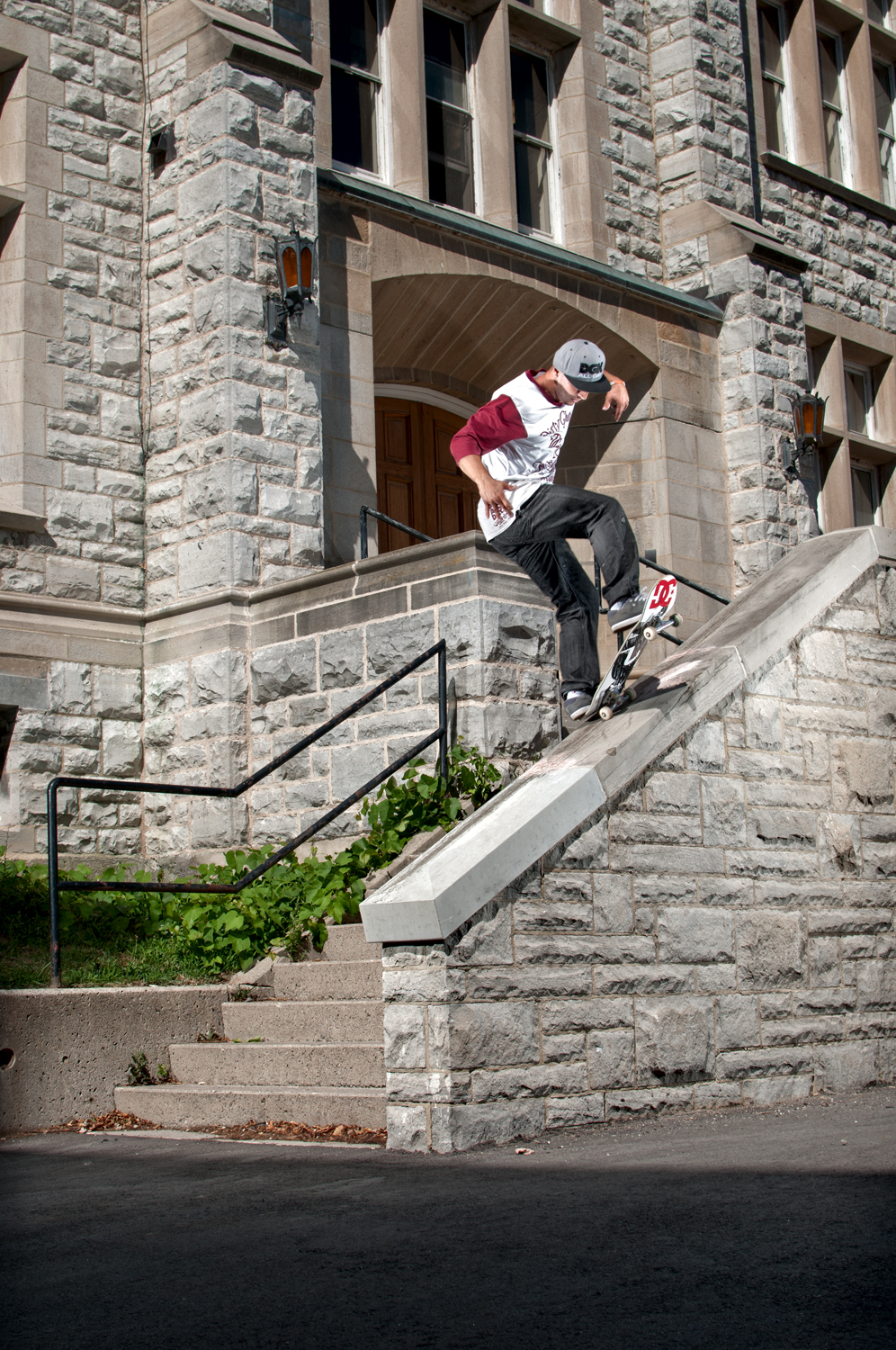 Mitch Barrette, Frontside Bluntslide, Kingston, ON 2012