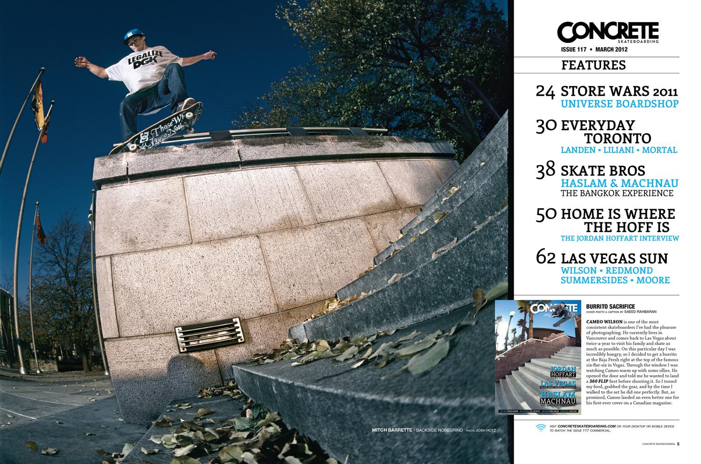 Concrete Skateboarding Issue 117
