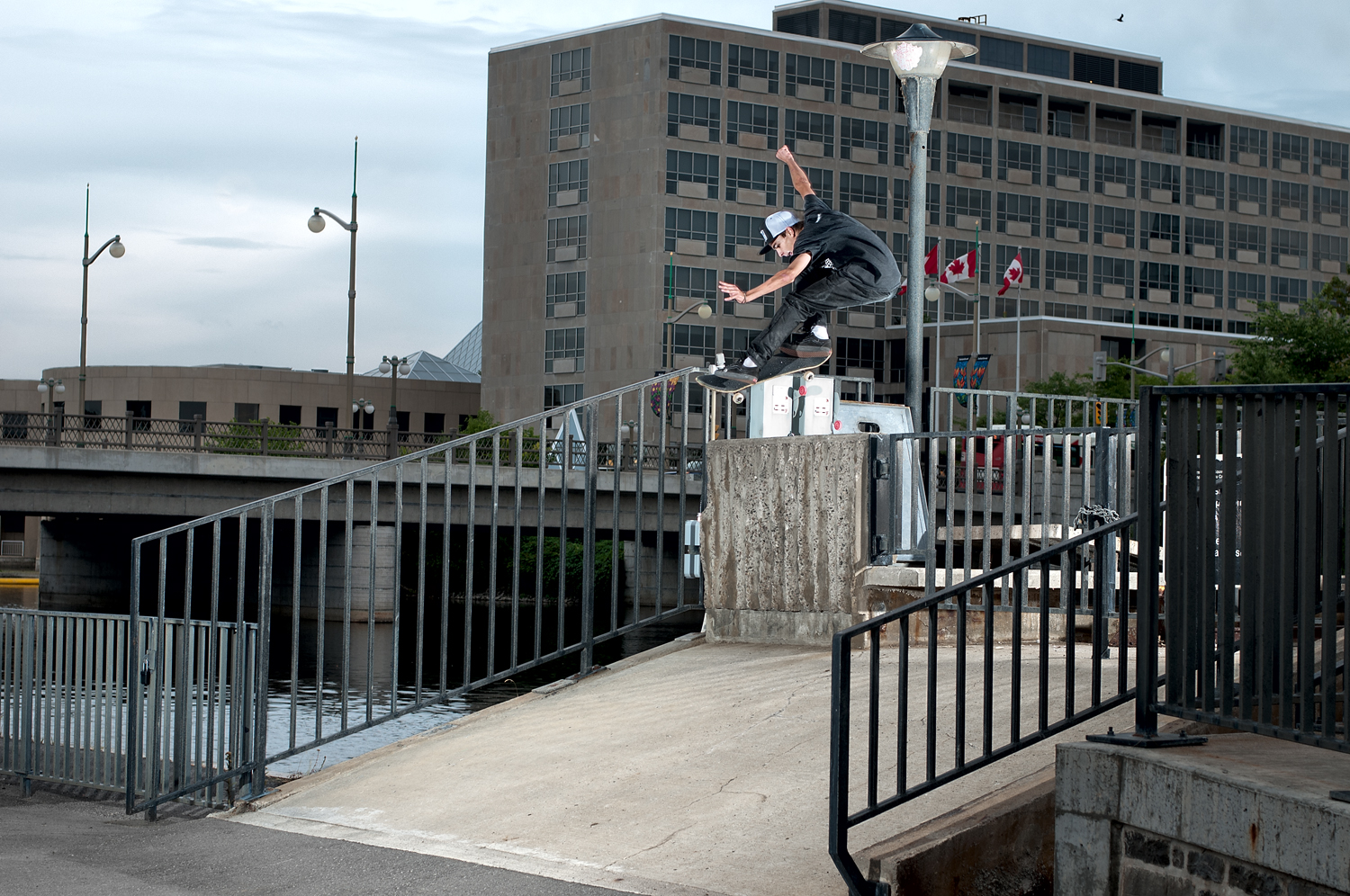 Sam Lind, Kickflip, Ottawa, ON 2012