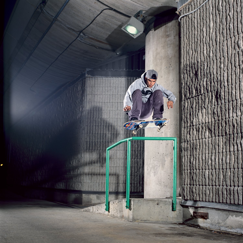 Luis Tolentino, Frontside 180, Montreal, QC 2013