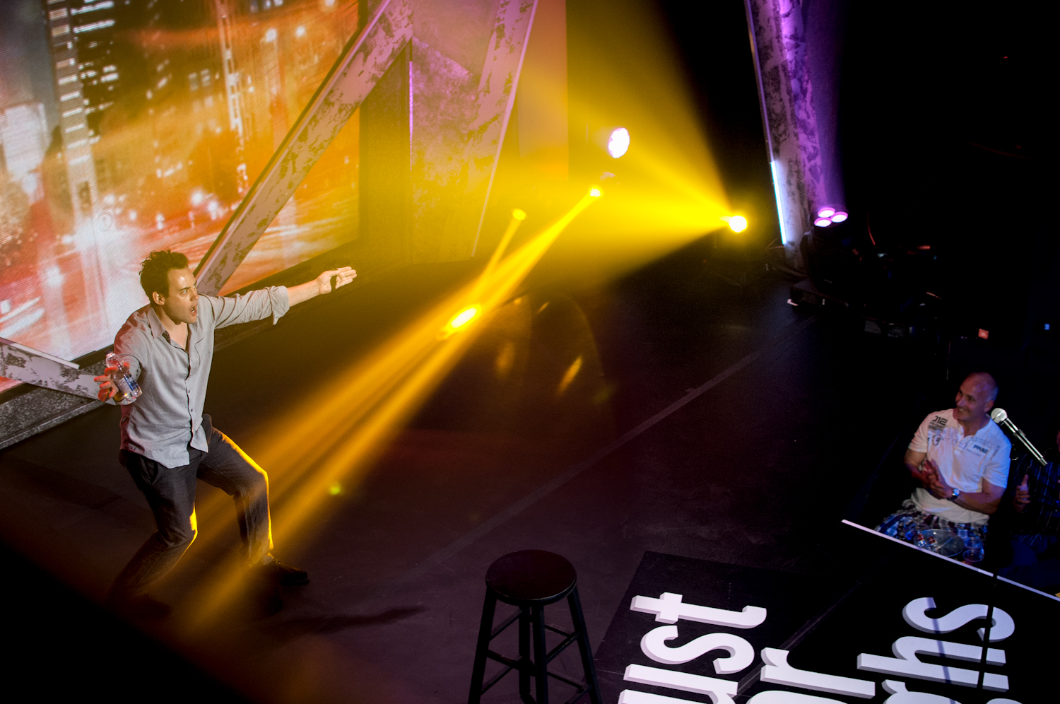 Orny Adams, Just For Laughs: Talk of the Fest, Montreal 2012