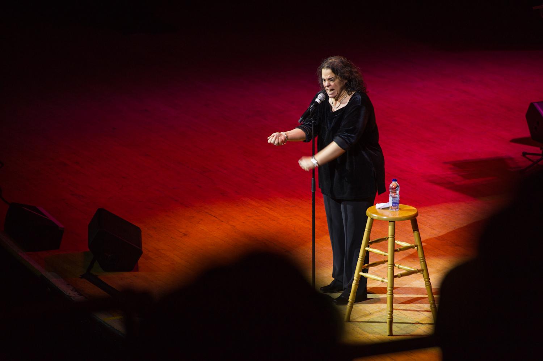 Jessica Kirson, Massey Hall NYE Comedy Extravaganza, Toronto 2014