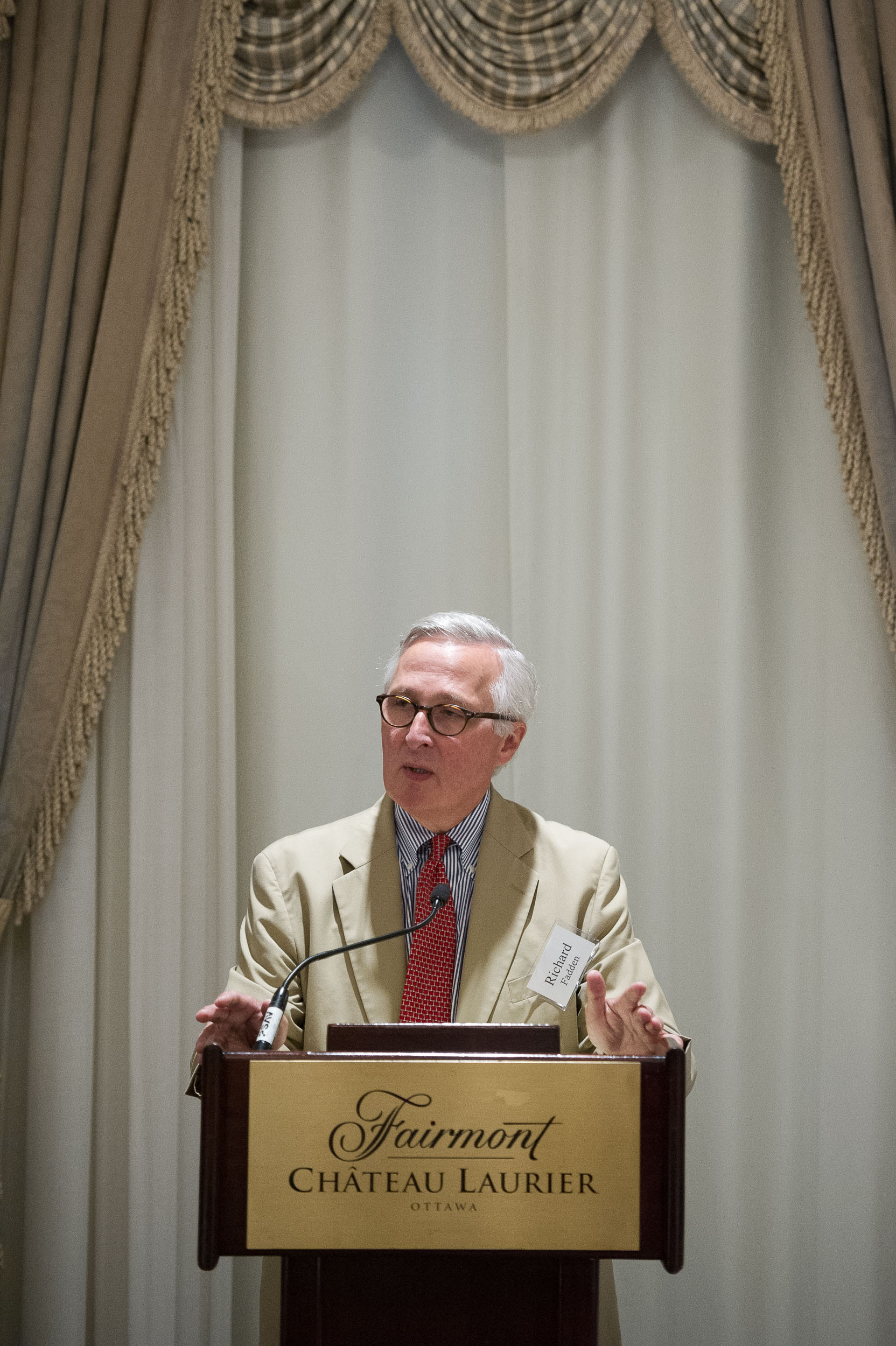 Richard B. Fadden, Former Director of CSIS, Former National Security Advisor to the Prime Minister