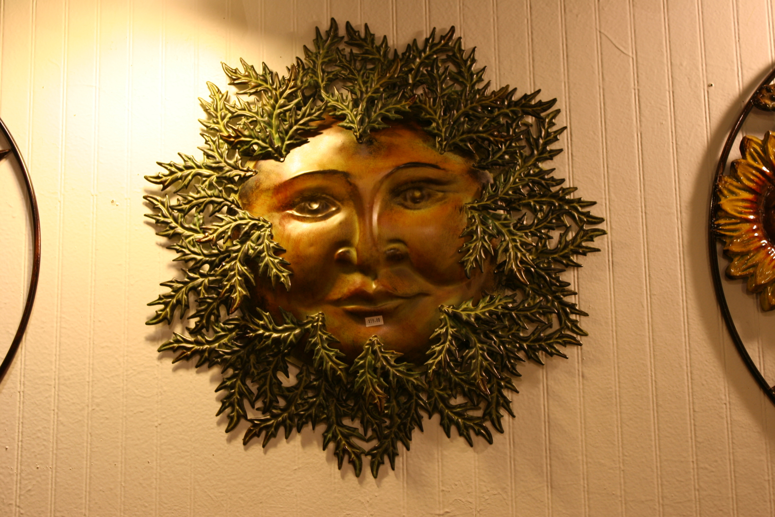 Greenman wall art.JPG