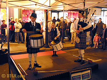 The Ingersols performing during the Grass Valley Cornish Christmas.