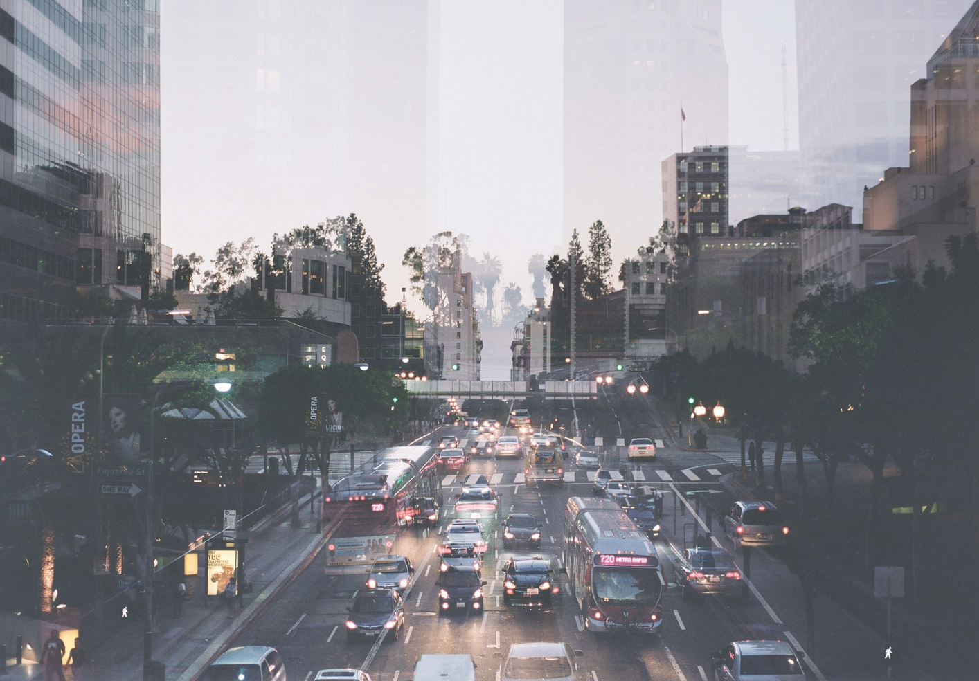 LA image of Anthony Samaniego's beautiful City Series