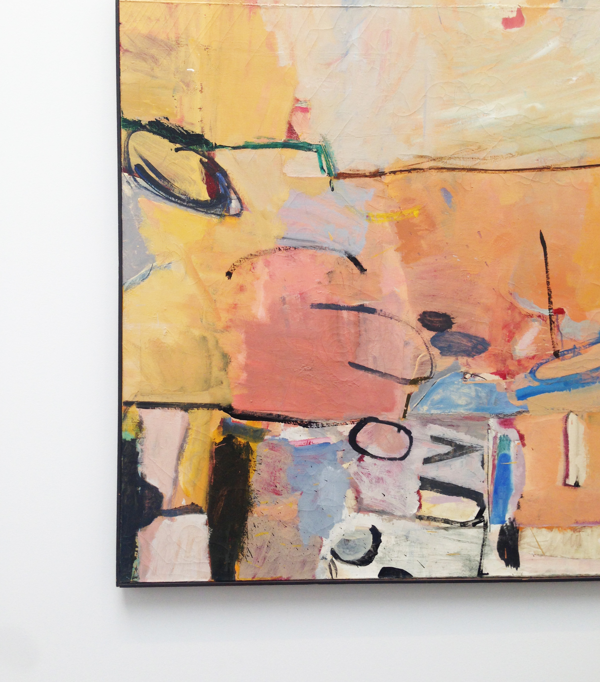 Richard Diebenkorn Berkeley No 3  ~ Oil on canvas and I'm obsessed!