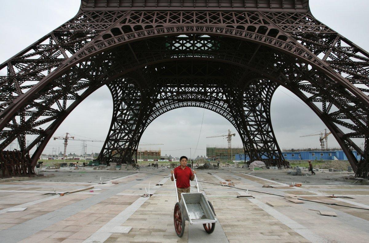 Paris city replica- made in China
