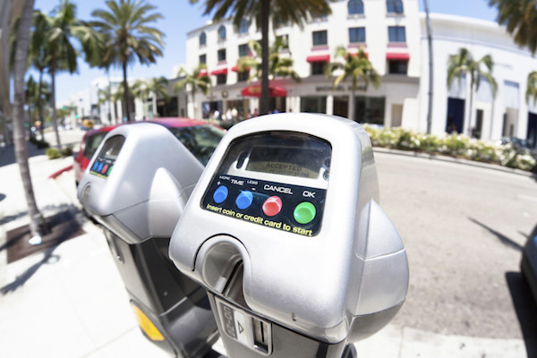 Even parking meters have transmitters now