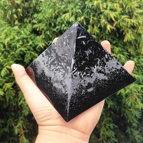 black-orgonite