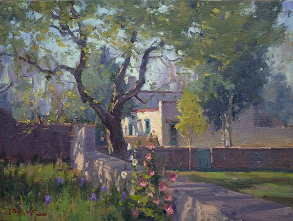 phil starke,oil painting