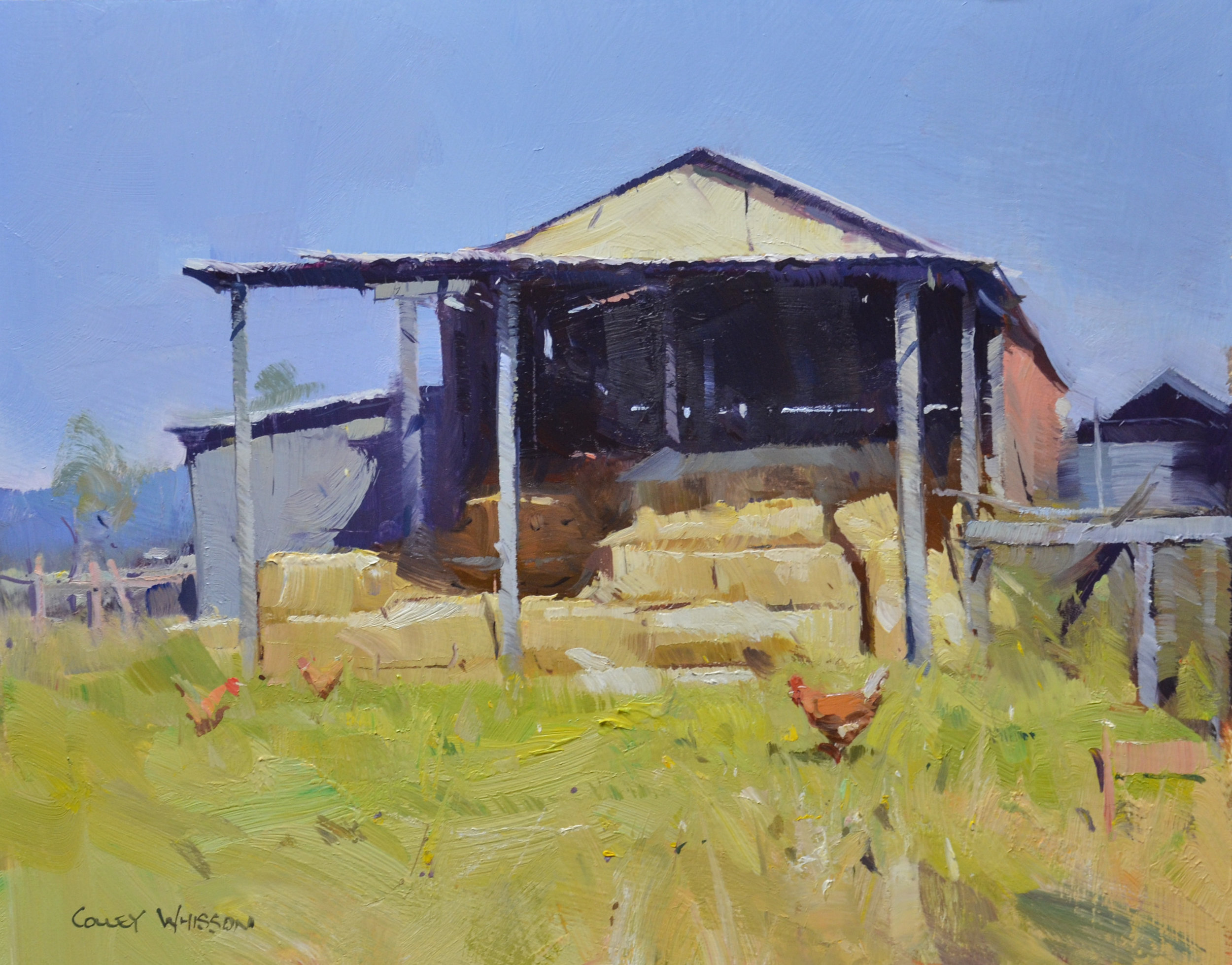 COLLEY WHISSON landscape Online workshop course - Impressionistic Approach to painting in oils