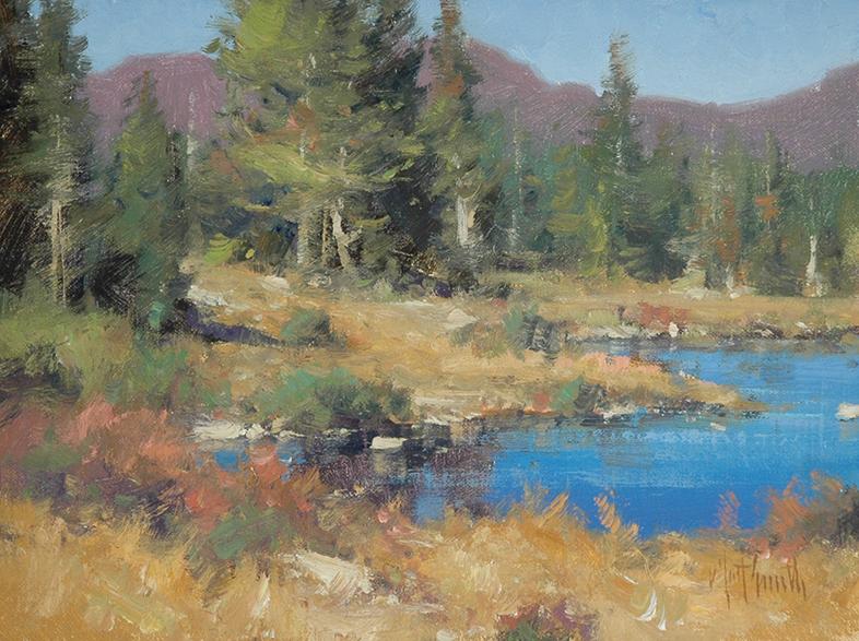 MATT SMITH landscape Online workshop course -Simplifying the Landscape painting in oils