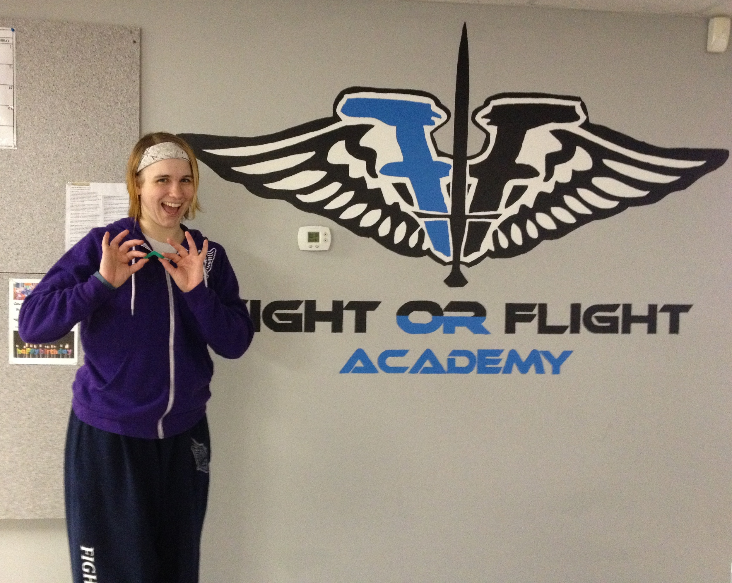 I went to Fight or Flight Academy and all I got was this silly green pointy thing!