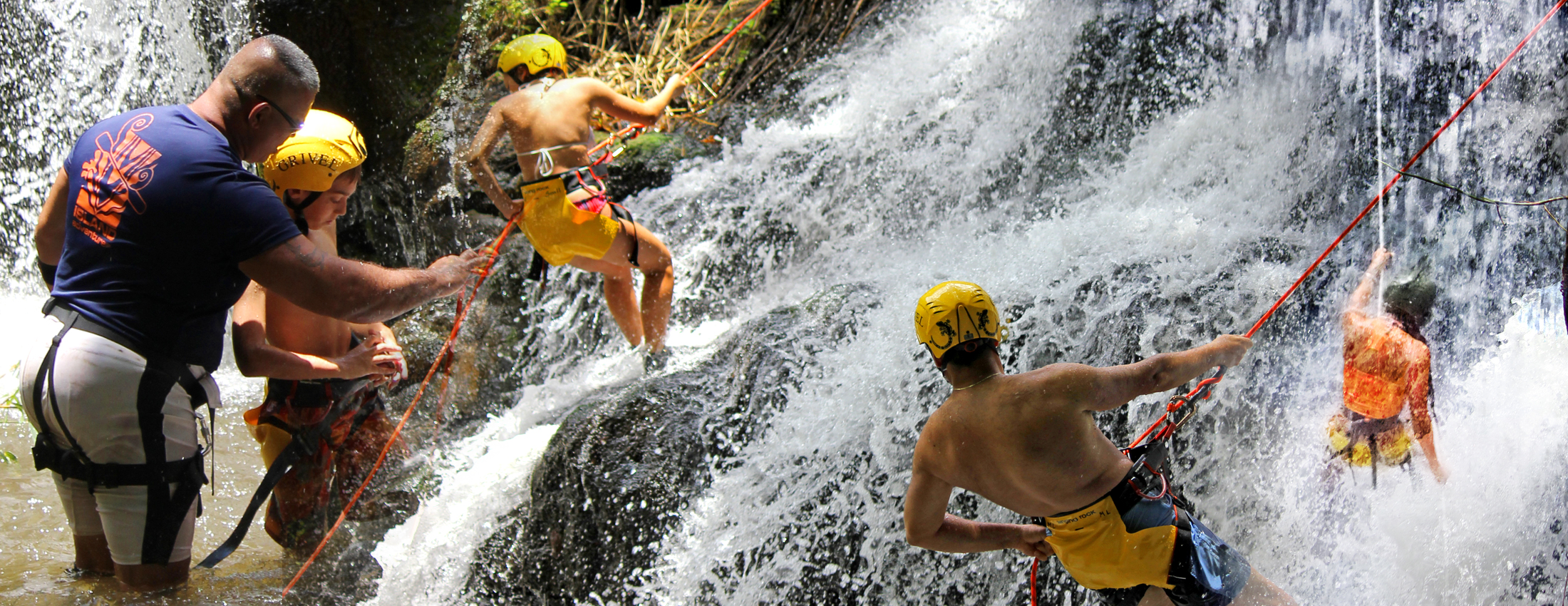RAPPEL PRIVATE WATERFALLS