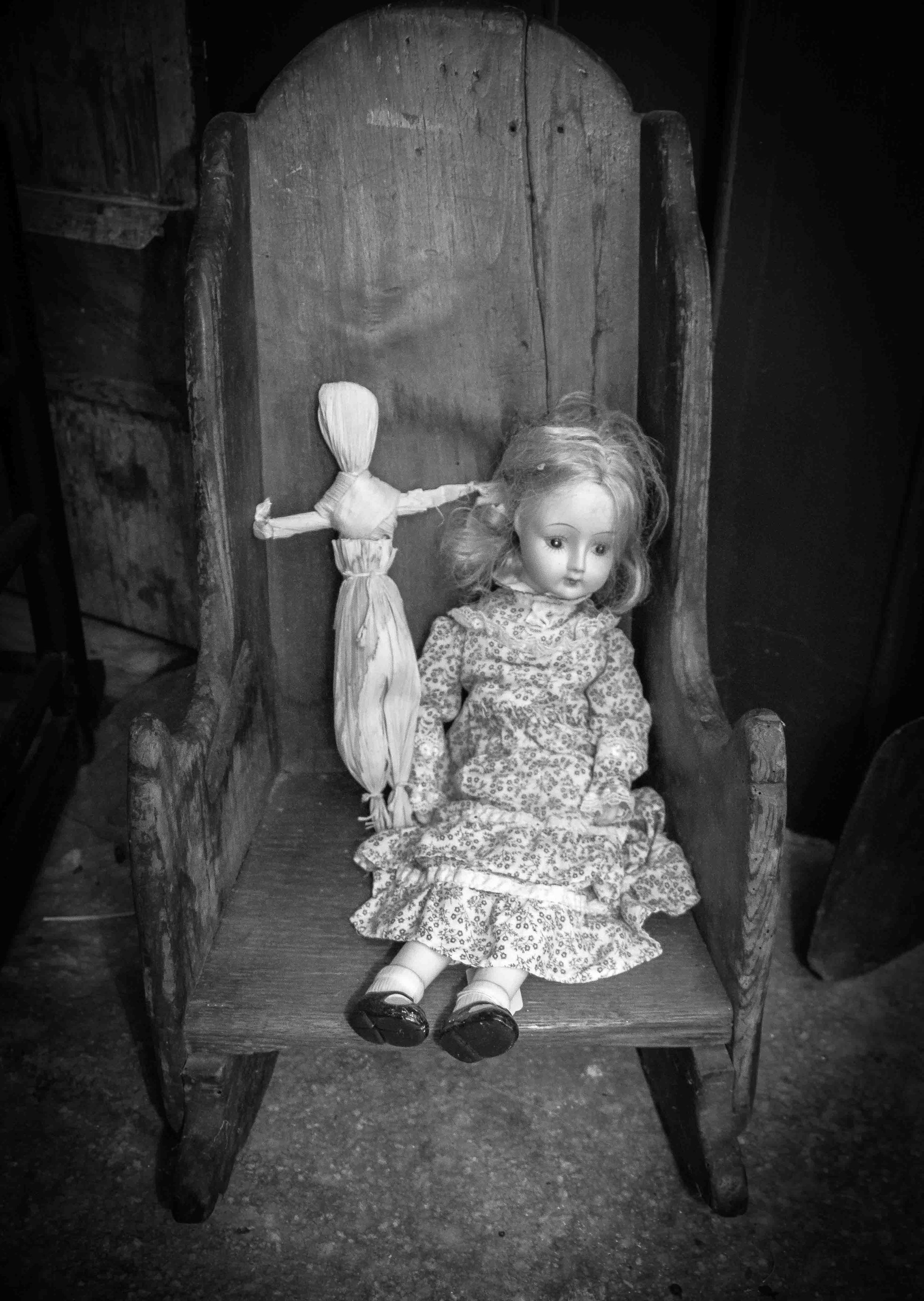 Doll in room