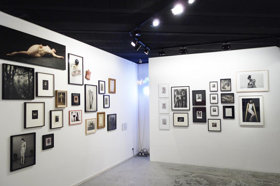 "Installation view ""mauvais genre"", Addict galerie, Paris France."